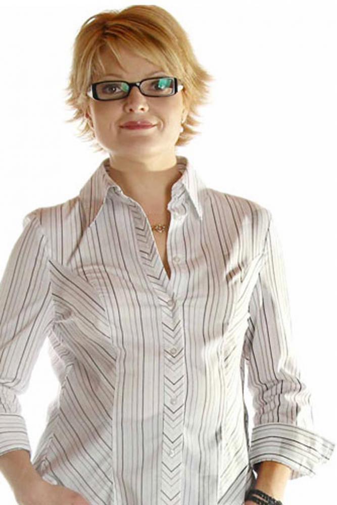 Maternity plus size Career Business Shirt