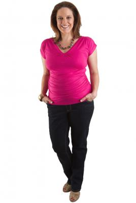 Maternity jeans dark denim