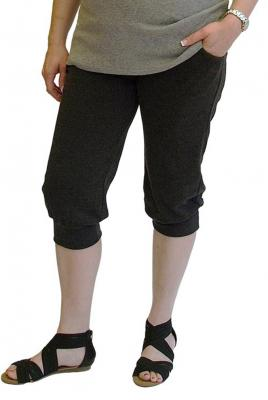 Plus Size Maternity Cuff Leisure Pant