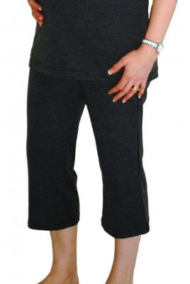 5cb860f0bd1 Maternity 3 4 Leisure Yoga Pants In Comfy Stretch Knit